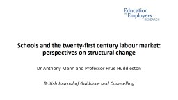 Schools and the twenty-first century