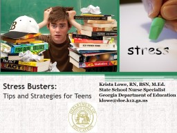 Stress Busters: