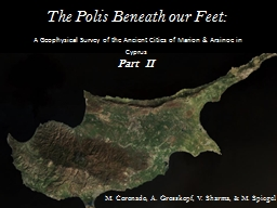 The Polis Beneath our Feet:
