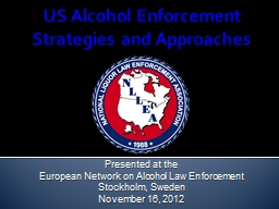 US Alcohol Enforcement