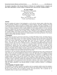 International Journal of Business and Social Science V