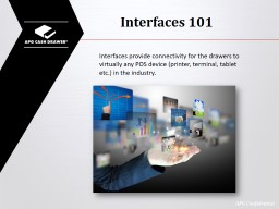 Interfaces 101 PowerPoint PPT Presentation