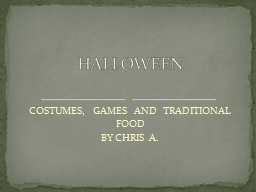 COSTUMES,  GAMES  AND  TRADITIONAL