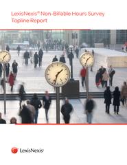 LexisNexis NonBillable Hours Survey Topline Report  Ex PowerPoint PPT Presentation