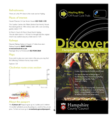 Hampshires Countryside by Bike Discover Distance  mile
