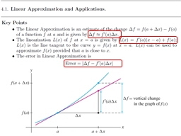 Use the Linear Approximation to estimate