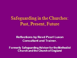 Safeguarding in the Churches: PowerPoint PPT Presentation