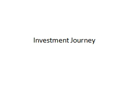Investment Journey