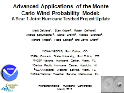 Advanced Applications of the Monte Carlo Wind Probability M