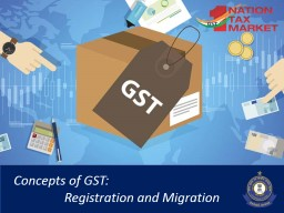 1 Concepts of GST: