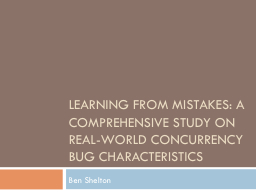 Learning from Mistakes: A Comprehensive Study on Real-World