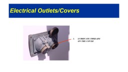 Electrical Outlets/Covers