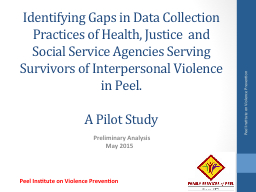 Identifying Gaps in Data Collection Practices of