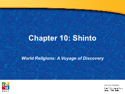 Chapter 10: Shinto PowerPoint PPT Presentation
