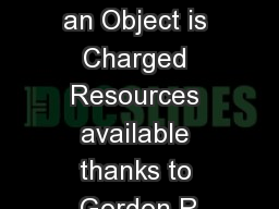 Lesson  How an Object is Charged Resources available thanks to Gordon R