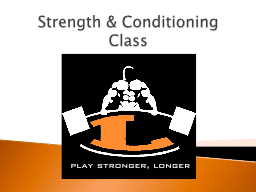Strength PowerPoint PPT Presentation