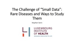N of 1 Trials, Statistical Inference and Rare Diseases