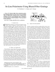 IEEE PHOTONICS TECHNOLOGY LETTERS VOL