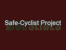 Safe-Cyclist Project