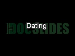 Dating & Relationship Violence