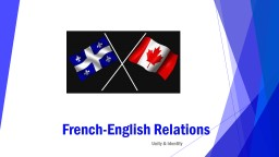 French-English Relations