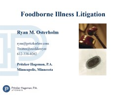 Foodborne Illness Litigation