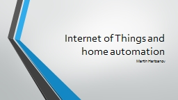 Internet of Things and home automation PowerPoint Presentation, PPT - DocSlides
