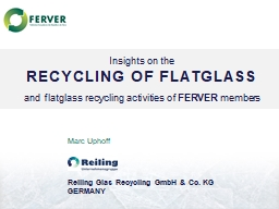 Reiling Glas Recycling GmbH & Co. KG PowerPoint PPT Presentation