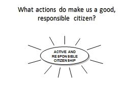 What actions do