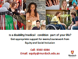 Is a disability/medical condition