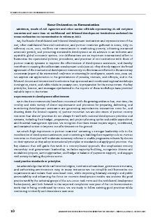 ROME DECLARATION ON HARMONISATION  HARMONISING DONOR PRACTICES FOR EFFECTIVE AID DELIVERY  ISBN    OECD  Rome Declaration on Harmonisation Ministers Heads of Aid Agencies and other Se nior Officials r