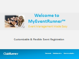 Event Management Made Easy