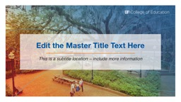 Edit the Master Title Text Here