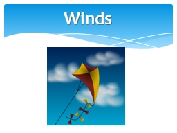 Winds PowerPoint PPT Presentation