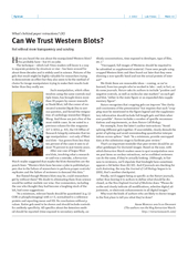 Lab Times  page  Opinion Whats behind paper retraction