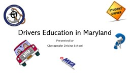 Drivers Education in Maryland