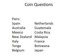 Coin Questions