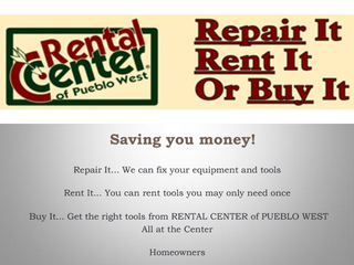 Tool Rental Canon City Co