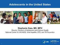 Adolescents in the United States