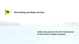 Rock Sailing and Water-ski Club
