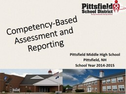 Competency-Based Assessment and Reporting