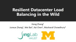 Resilient Datacenter Load Balancing in the Wild
