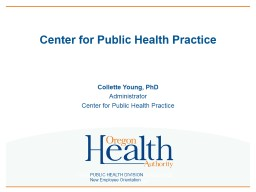 Center for Public Health Practice