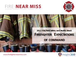 2017 Fire/EMS Safety and Health Week