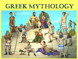 Greek Mythology Building Background: