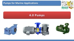 4.0 Pumps Overview of  Lecture PowerPoint PPT Presentation