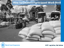 How to Create a Participant Work Book PowerPoint PPT Presentation