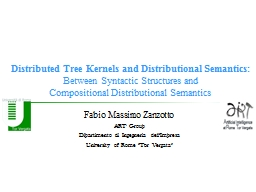 Distributed  Tree   Kernels PowerPoint PPT Presentation
