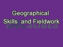 Geographical Skills  and Fieldwork
