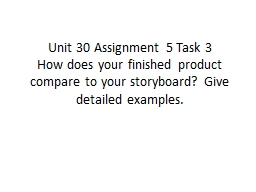 Unit 30 Assignment 5 Task 3
